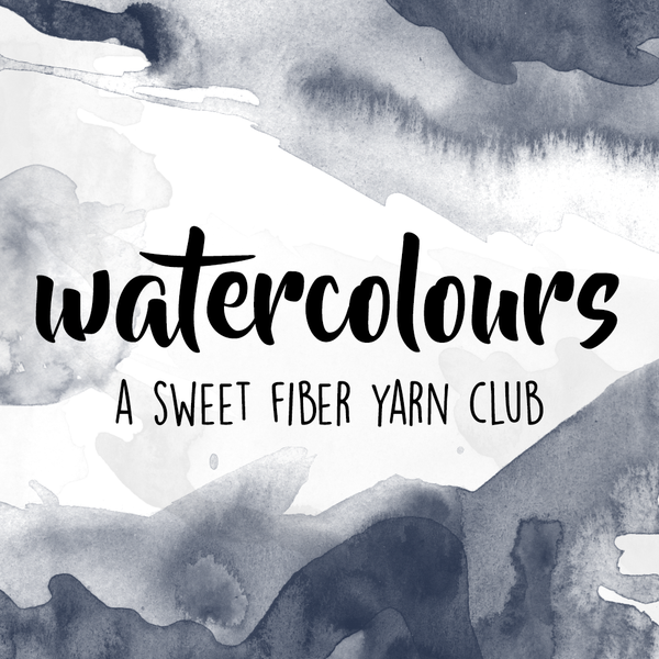 Watercolours | Yarn Club 2017
