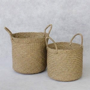 Mendong Seagrass Basket Set of 2-Janggalay
