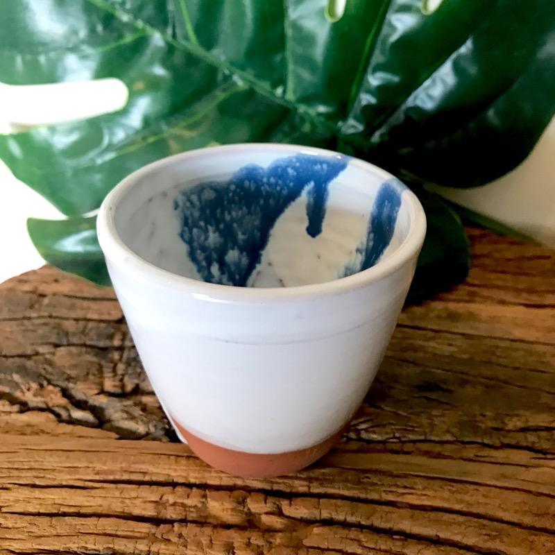 Espresso Cup Ocean Shore Pottery by Brooke Clunie-Janggalay