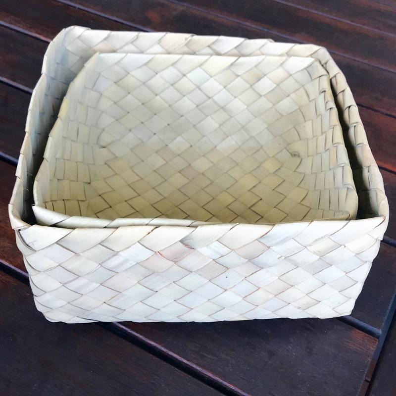 Gift Basket Palm Leaf-Janggalay