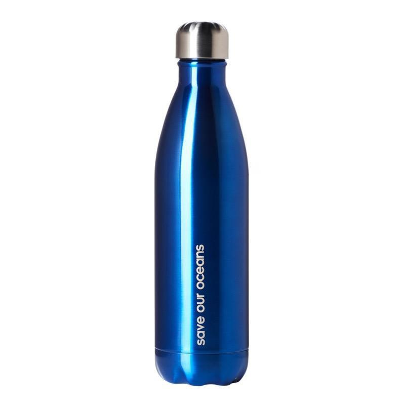 BBBYO Stainless Steel Thermal Drink Bottle + Carry Cover Tsumi Design Insulated-Janggalay
