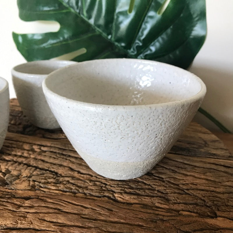 Sugar Bowl Toasted Earth Pottery by Brooke Clunie-Janggalay
