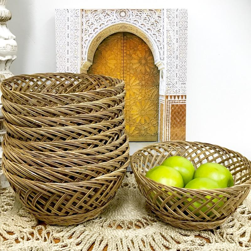 Basket Vintage Style Willow-Janggalay