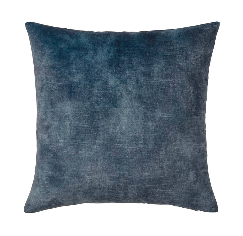 Ava Velvet Cushion Ocean Blue - Janggalay