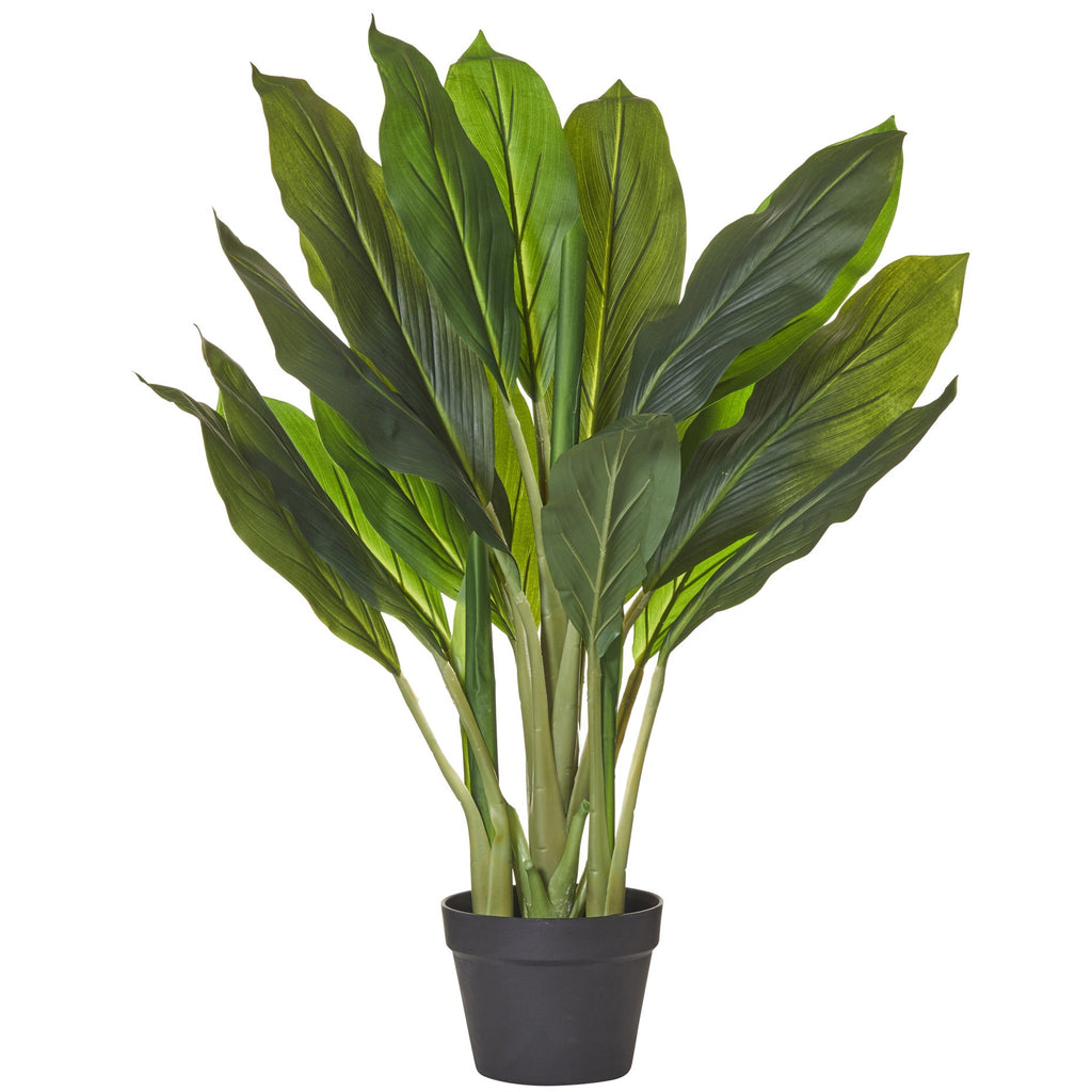 Dracaena Faux Potted Plant 80cm - Janggalay