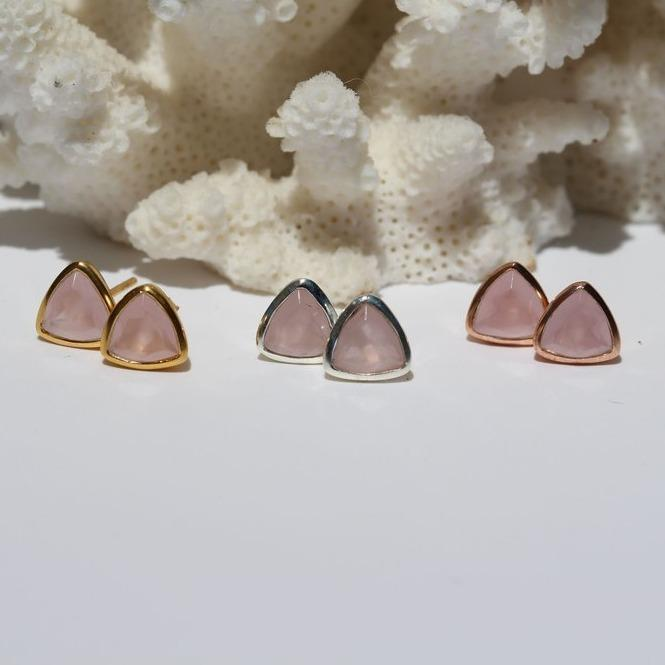 Belle Mare Stud Earrings - Janggalay