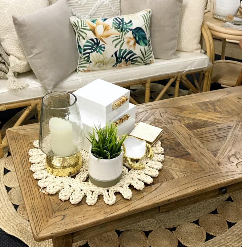 Boho Seagrass Table Mat