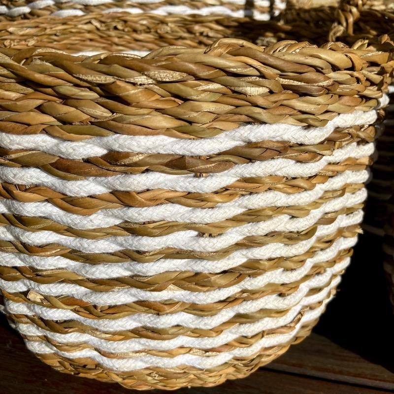 Indo Seagrass Baskets Set of 4 - Janggalay