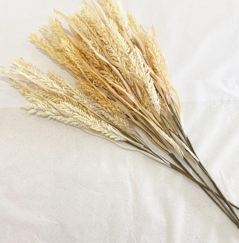 Faux Dried Willow Grass