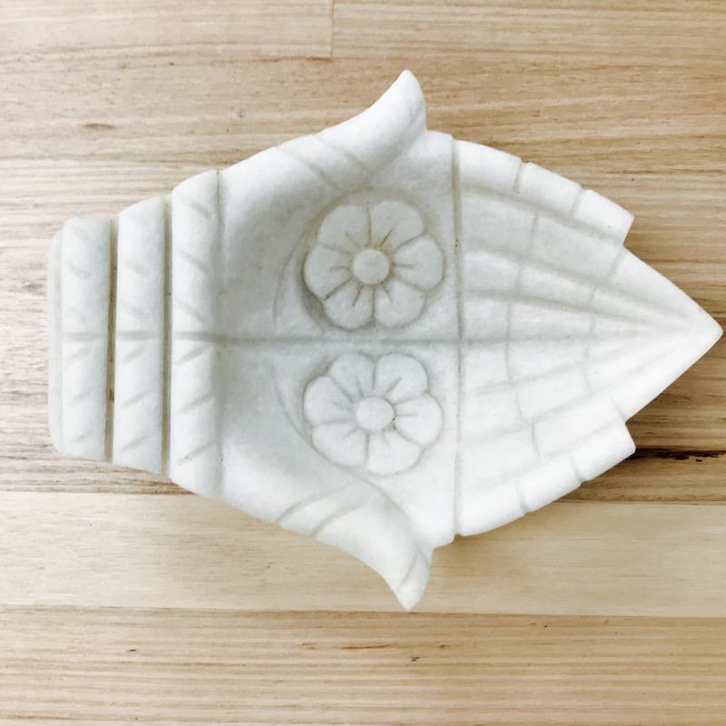 Carved White Marble Hands