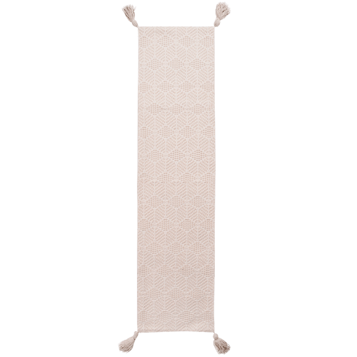 Cream Cotton Table Runner - Janggalay