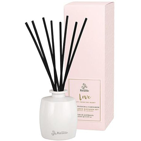 Love - Neroli Blossom and Cardamom Urban Rituelle Diffuser Set-Janggalay