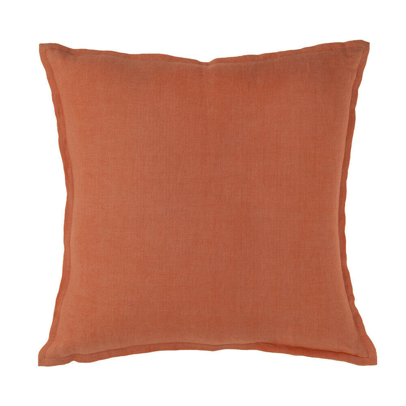 Naples Canyon Linen Cushion with Feather Fill