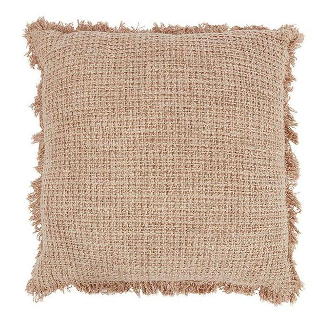 Boho Cushion Square - Nude