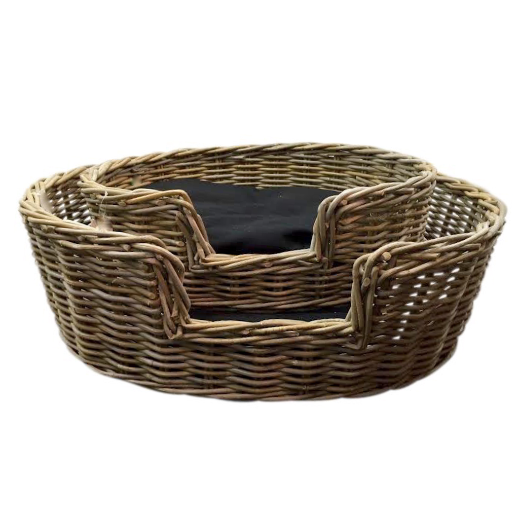 Somnus Rattan Dog Bed-Janggalay
