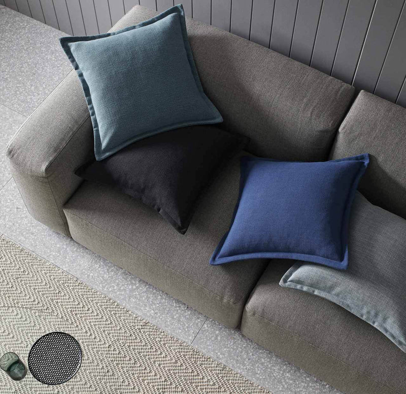 Waterfall Cushion Green by Weave