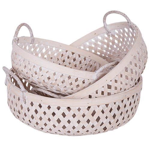 Hamptons Woven Fruit Basket