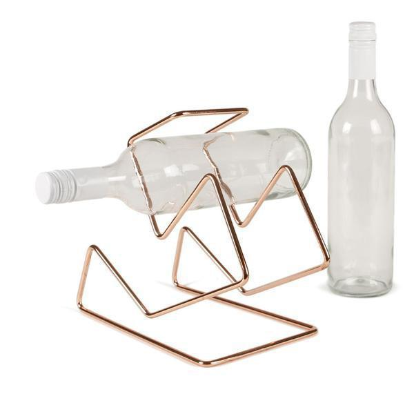 Bendo Wine Rack Copper or Matte Black-Janggalay