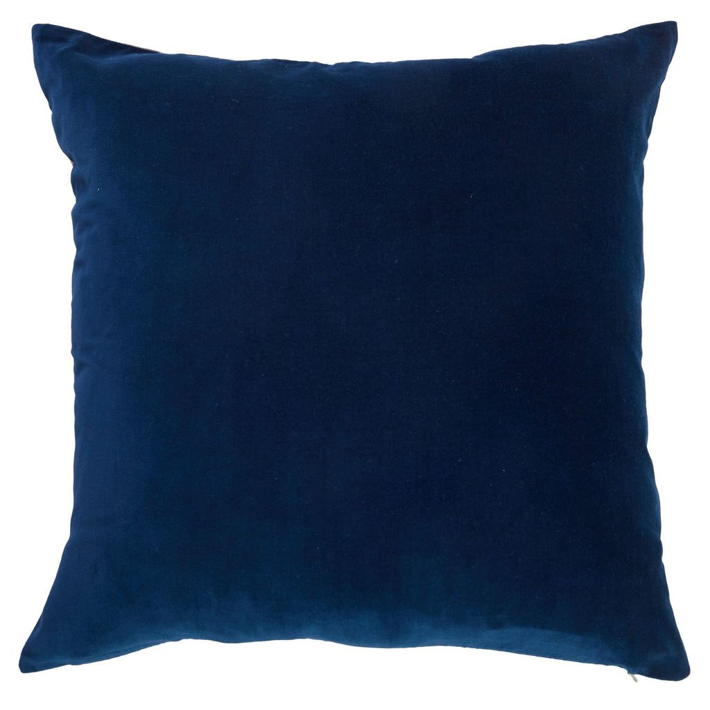 Billy Navy Velvet Cushion Handmade-Janggalay