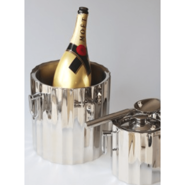 Celebration Ice Wine Bucket Stainless Steel-Janggalay