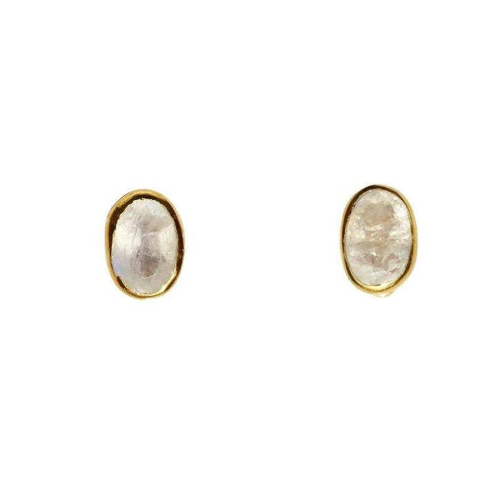 Fleur Stud Earrings - Janggalay