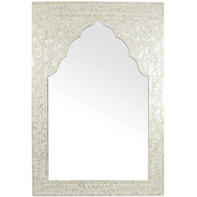 Shanka Mother of Pearl Shell Inlay Mirror
