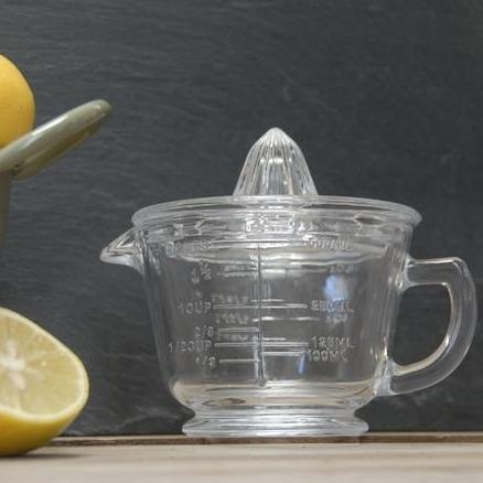 Glass Citrus Juicer with Measuring Jug - Janggalay
