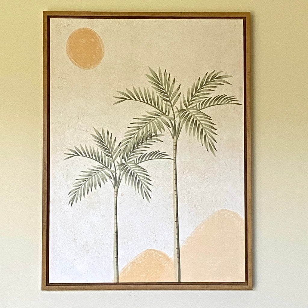 Desert Palms Artwork