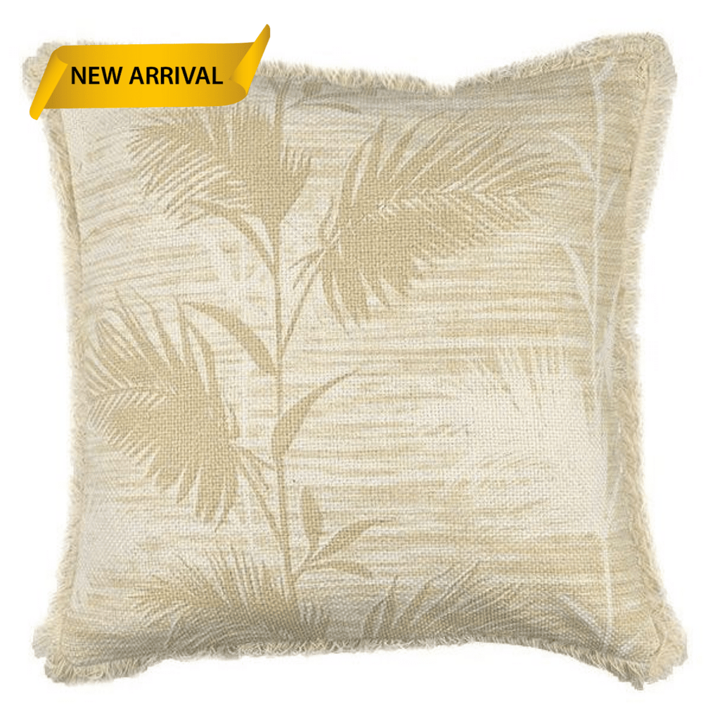 Bindi Palm or Leaf Cushion