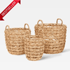 Synth Basket With Handles Water Hyacinth-Janggalay