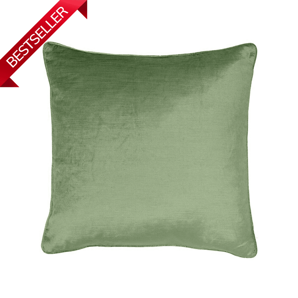 Velvet Pistachio Green Cushion