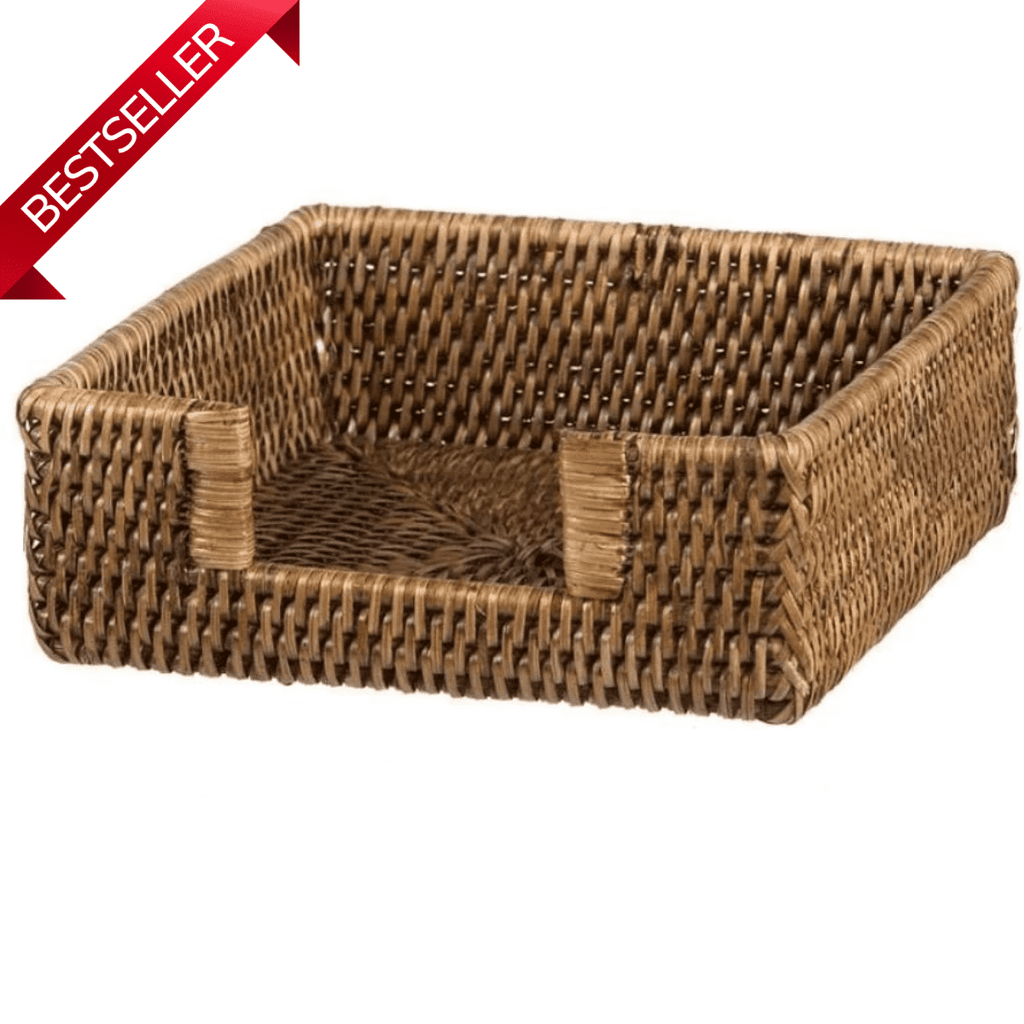 Rattan Serviette Napkin Holder-Janggalay