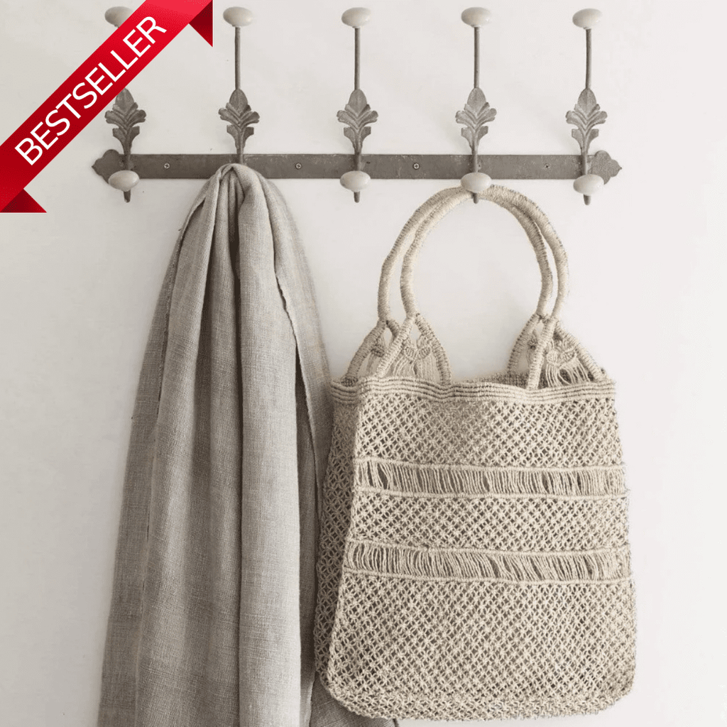 Stevie Jute String Shopping Bag
