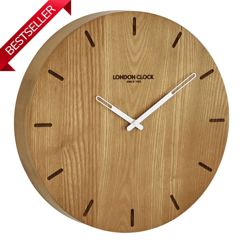 Wooden Wall Clock by London Clock Co-Janggalay