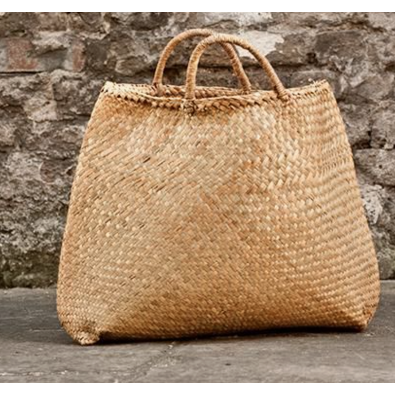 Seagrass Bag Shopping Beach Tote-Janggalay