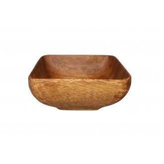 Acacia Wood Bowls Square-Janggalay