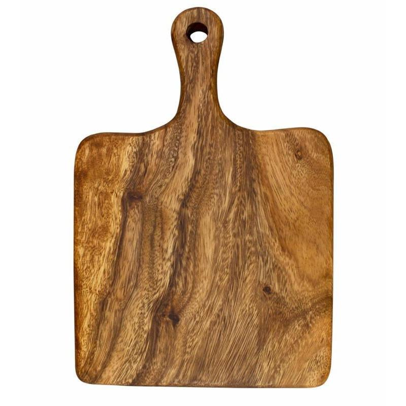Acacia Wood Board Chopping Serving Paddle Presentation-Janggalay