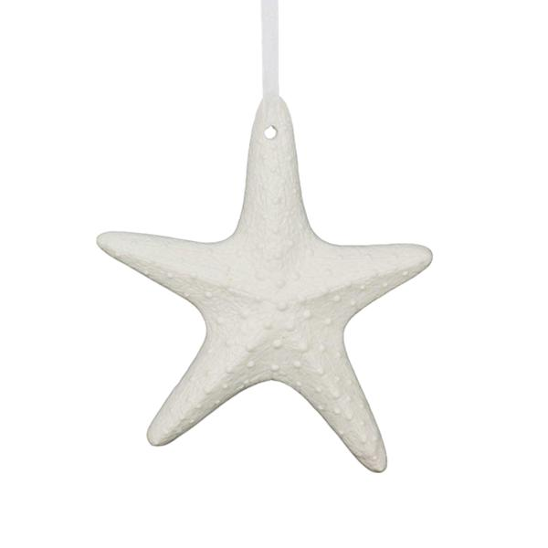White Starfish Ceramic