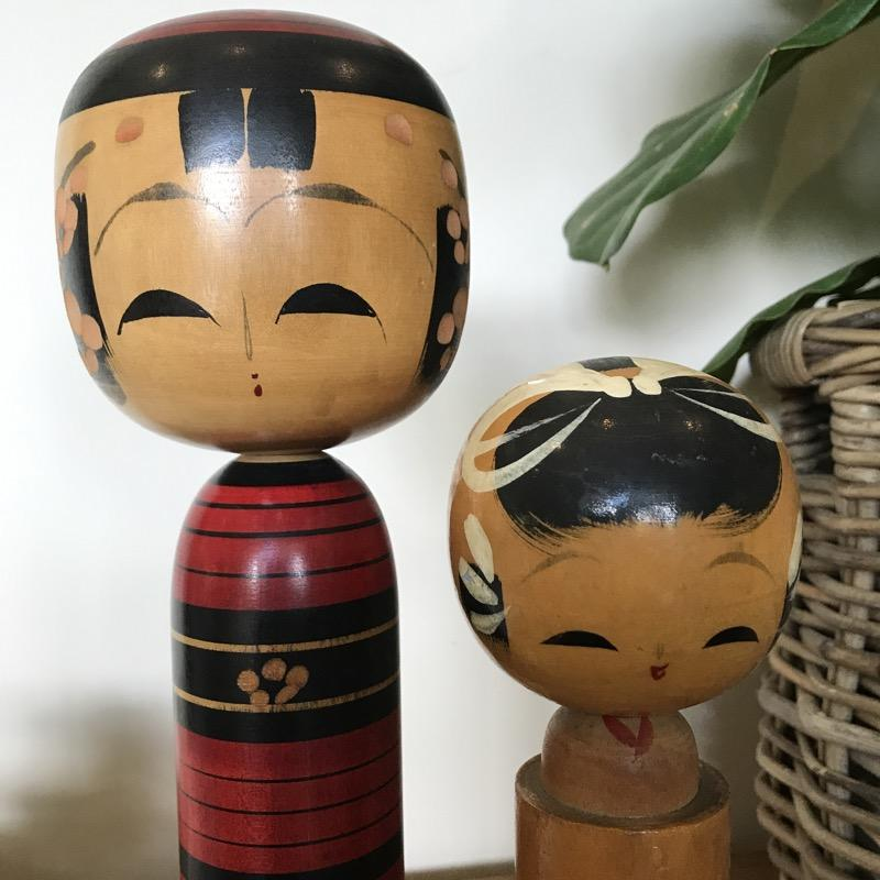 Vintage Kokeshi Doll Japanese Wooden Doll-Janggalay