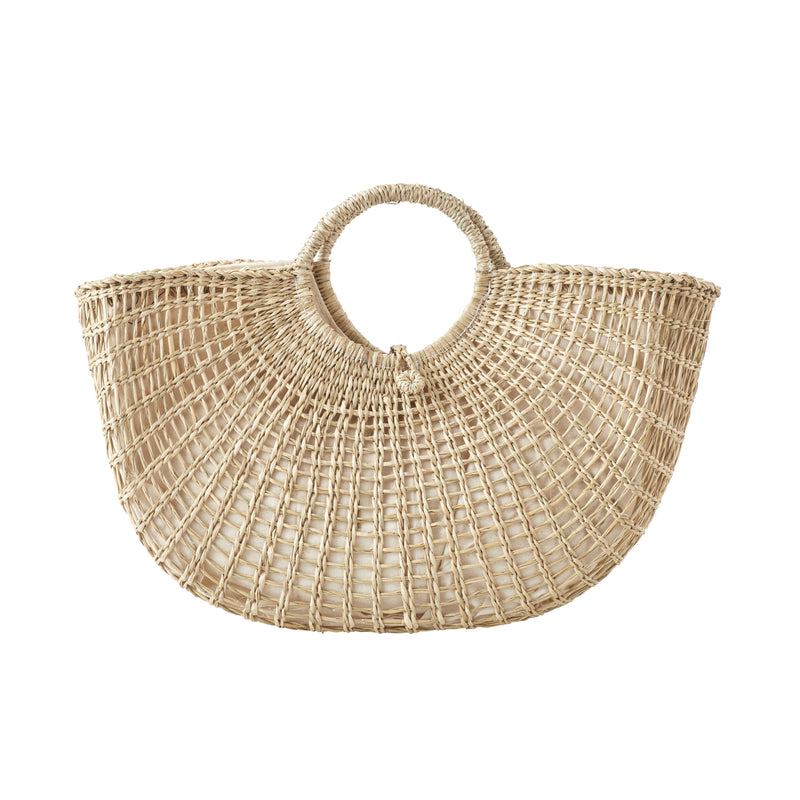 Hanna Handbag Seagrass Natural-Janggalay