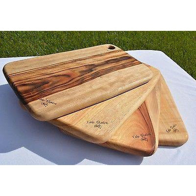 Wooden Timber Chopping Presentation Board Natural Camphor Laurel-Janggalay