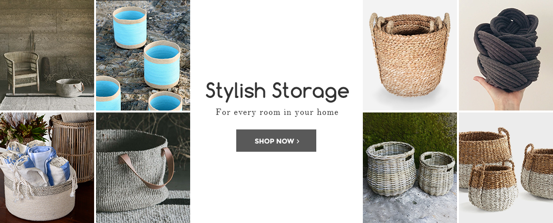 Stylish Storage for Every Room in Your Home