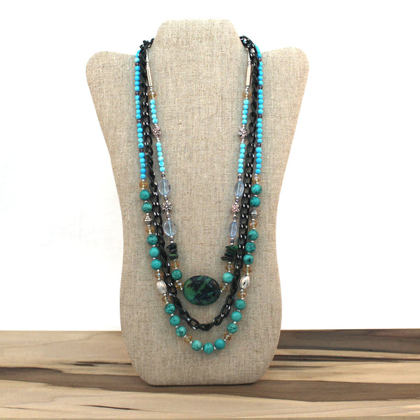 Layered necklace - Ocean