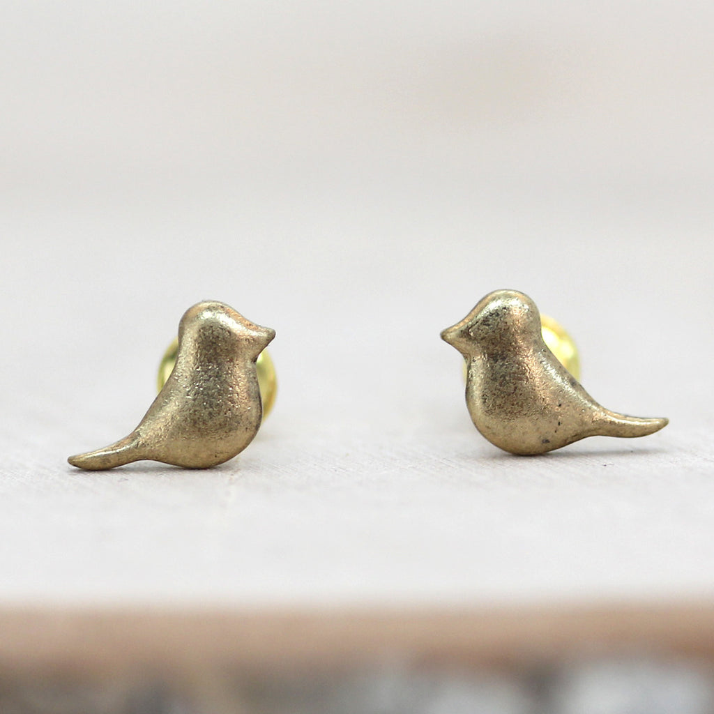 Little Birdie Stud Earrings