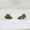 Mini Feather Stud Earrings