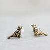 Mini Dove Stud Earrings