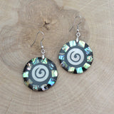 Swirly Shell Earrings