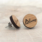 Wooden Always Earrings