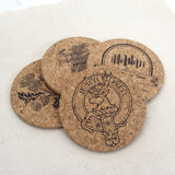 Outlander Themed Cork Coaster Set of 4