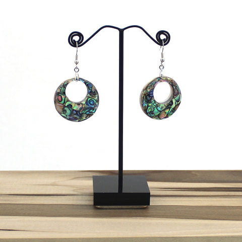 Abalone Tile Earrings